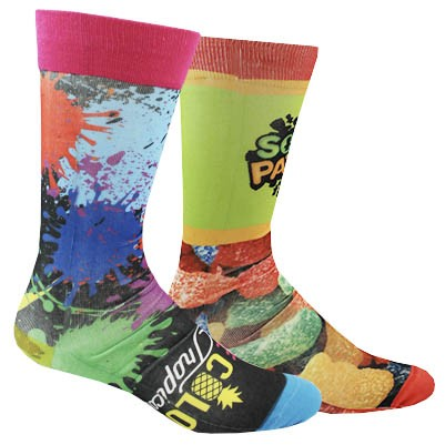 Full Color Dye Sublimated Sock