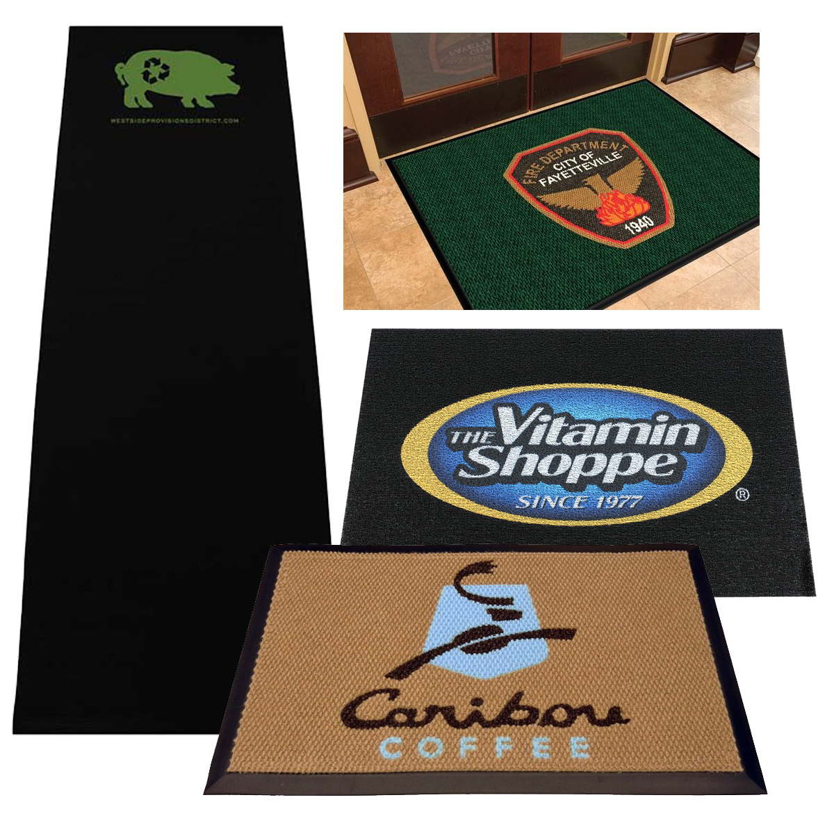 Custom Printed Floor Mats Rugs Runners