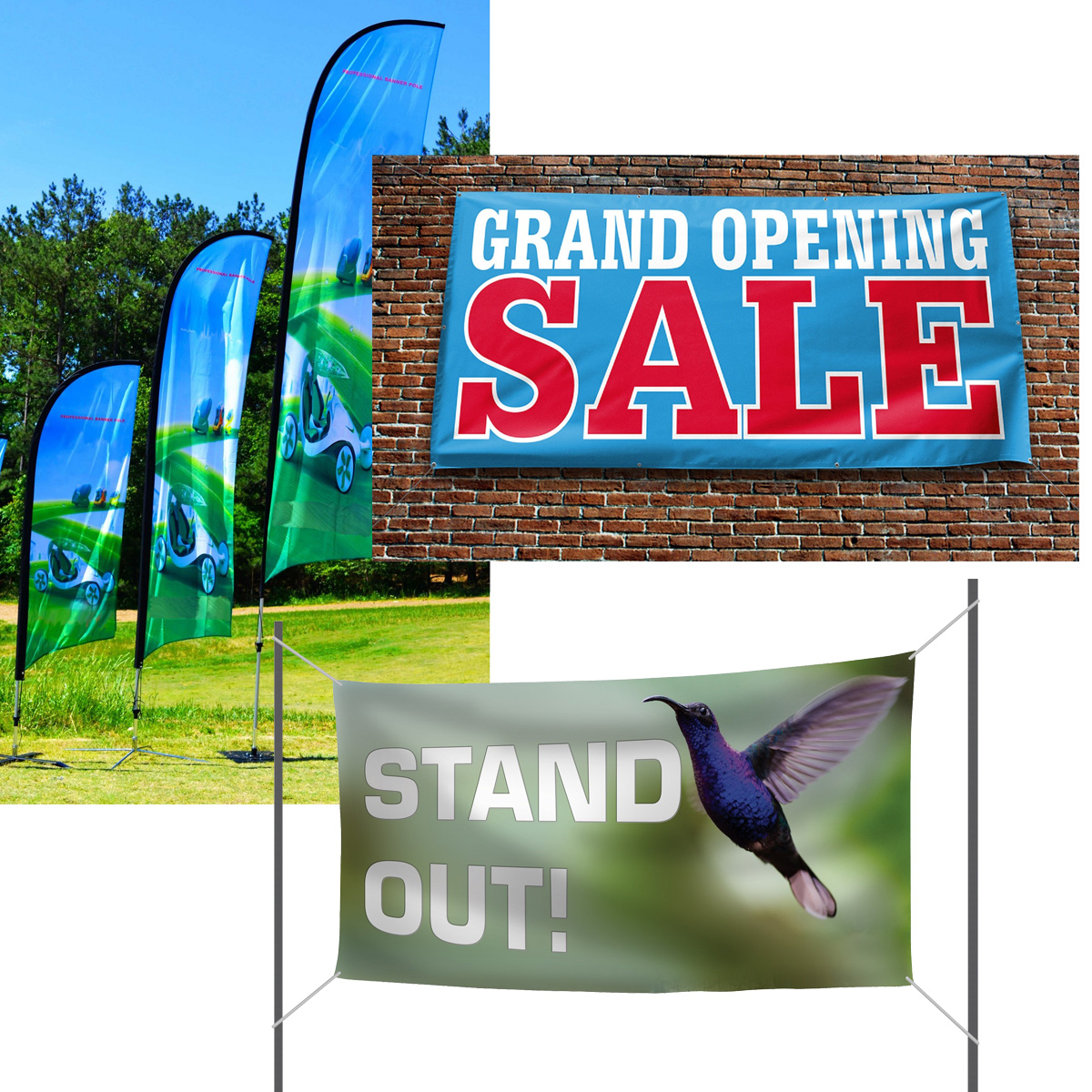 Outdoor Banners And Flags Gobig Promo And Apparel