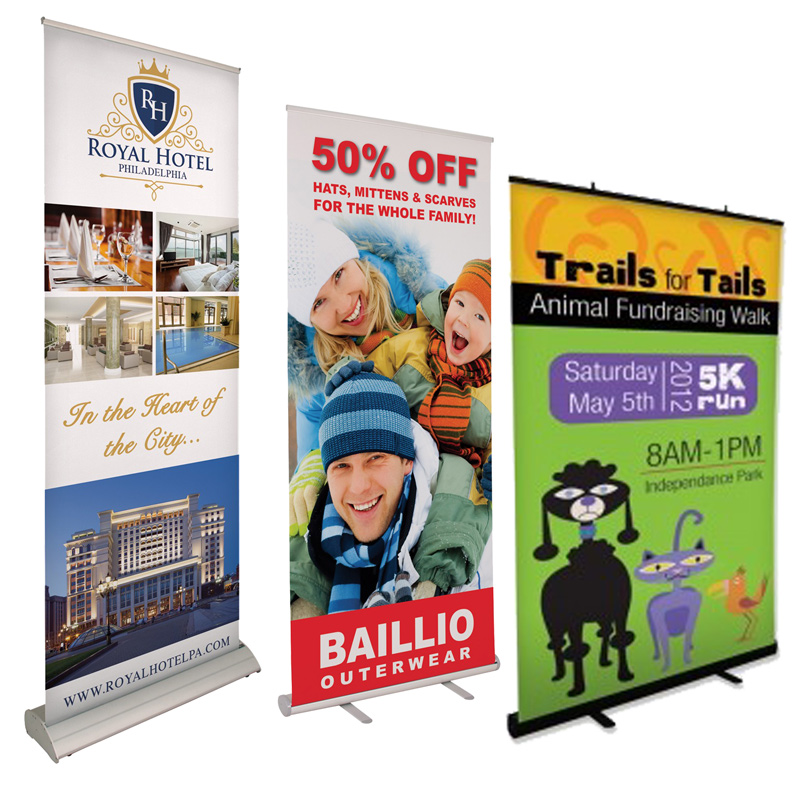 Retractable Banner Stands Tradeshows Des Moines