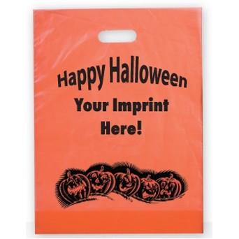 Stock Halloween Plastic Bag